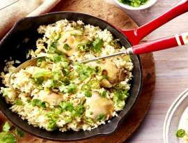Ginger Chicken With Rice