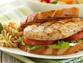 Chicken Macaroni Sandwich