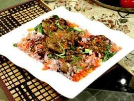 Grilled Chapli Kabab