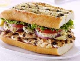 Grill Fish Sandwich