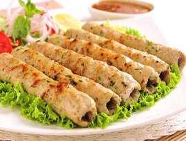 Lakhnavi Seekh Kabab