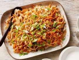 Chicken Vegetable With Rice Noodles