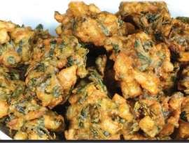 Palak Or Payaz K Pakore