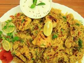 Chicken Tikka Pulao