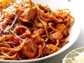 Chicken Pasta Sauce Spaghetti