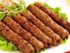 Chapli Seekh Kabab
