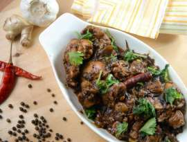 Black Pepper Chicken