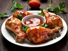Tomato Chicken Drum Sticks