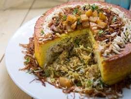 Biryani Cake