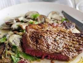 Steak With Mushroom
