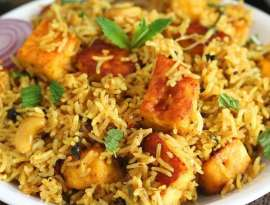 Paneer Chicken Biryani