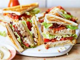 Queen Of Club Sandwich