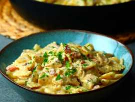 Chicken Honey Pasta