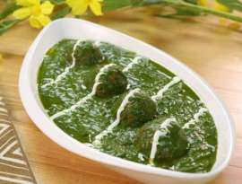 Palak Chees Kofte