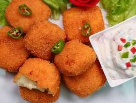 Cheese Bhare Nuggets
