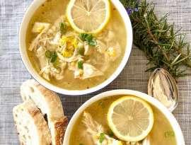 Spicy Lemon Chicken Soup