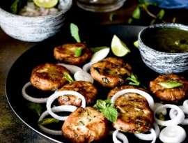 Hyderabadi Shikampuri Kebab