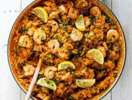 Shrimps Rice