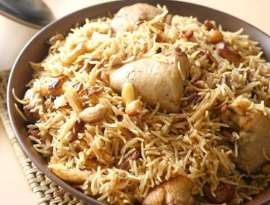Mewa Chicken Pulao