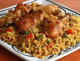 Chicken Golden Rice