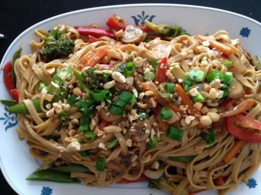 Crispy Thai Noodles Recipe In Urdu
