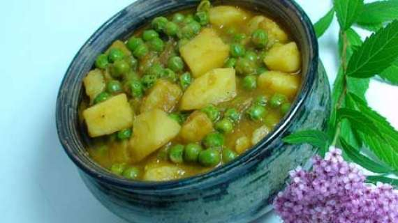 Matar Aur Paneer Ka Salan Recipe In Urdu