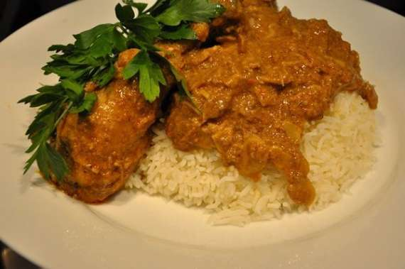 Jhat Pat Korma With Rice Recipe In Urdu
