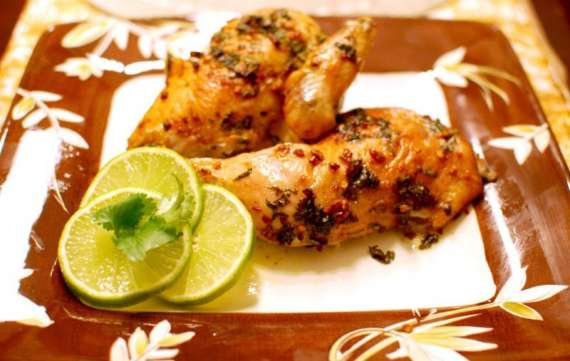Roasted Five Spice Garlic Chicken Recipe In Urdu