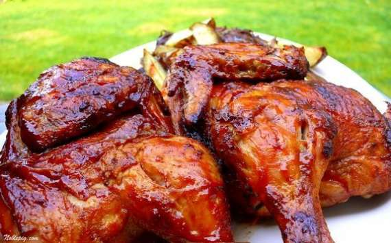 Masalay Dar Grill Chicken Recipe In Urdu