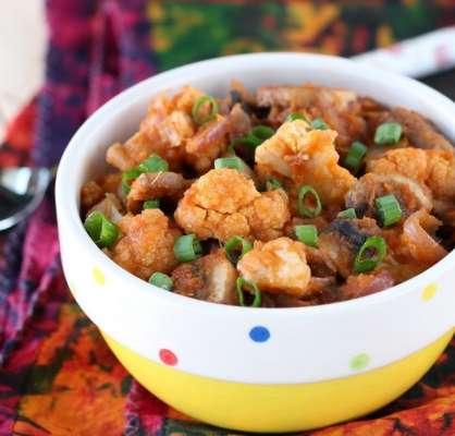 Mushroom Aur Gobi Ka Soup Recipe In Urdu