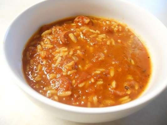 Spaghetti Rice Tomato Soup Recipe In Urdu