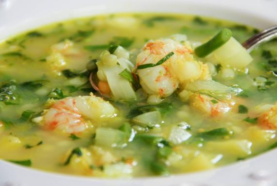 Shrimp And Vegetable Soup Recipe In Urdu