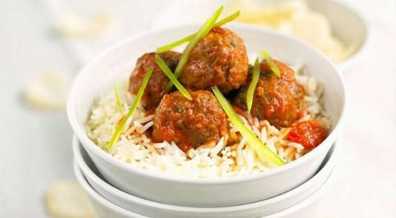 Meatballs Rice Recipe In Urdu