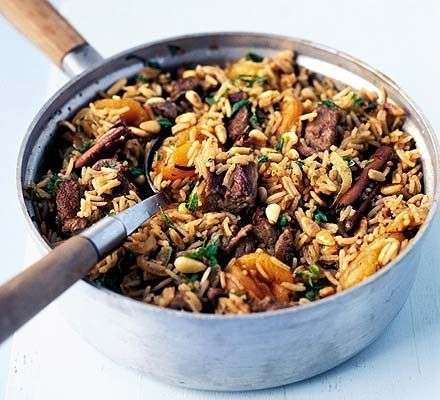 Turkish Meat Rice Recipe In Urdu