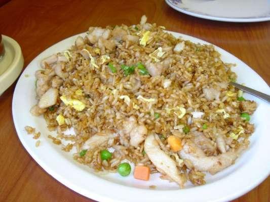 Singapuri Chicken Fried Rice Recipe In Urdu