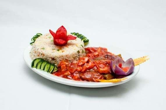 Fish Shashlik With Corn Rice Recipe In Urdu