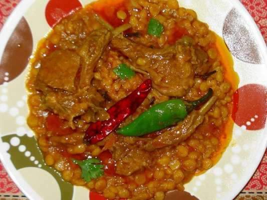 Mutton Chana Dal Masala Recipe In Urdu