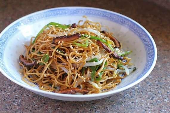Egg Fried Noodles Recipe In Urdu