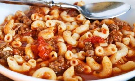 Beef Ketchup Macaroni Recipe In Urdu