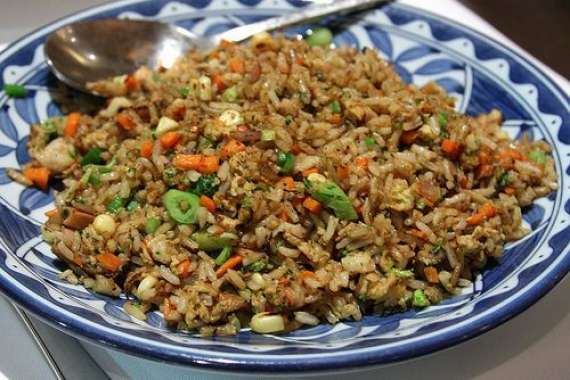 Kaleji Fried Vegetable Rice Recipe In Urdu