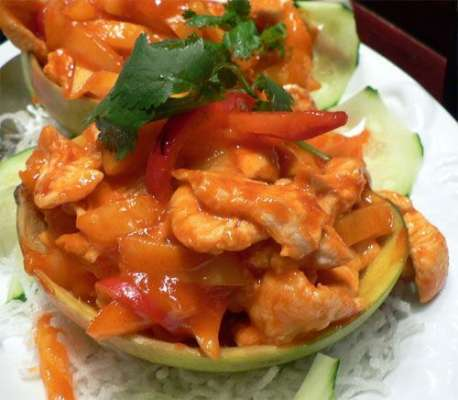 Mango Chicken Stir Fry Recipe In Urdu