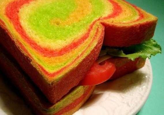 Colorful Sandwiches Recipe In Urdu