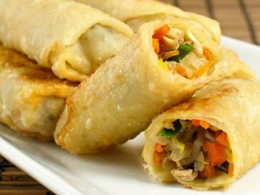 Vegetable Rolls Recipe In Urdu
