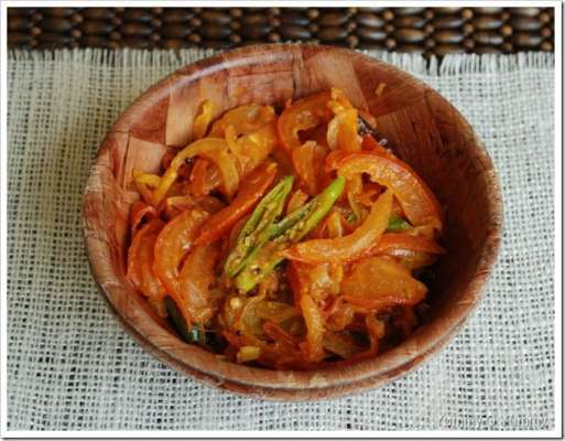 Talay Huay Tamatar Recipe In Urdu