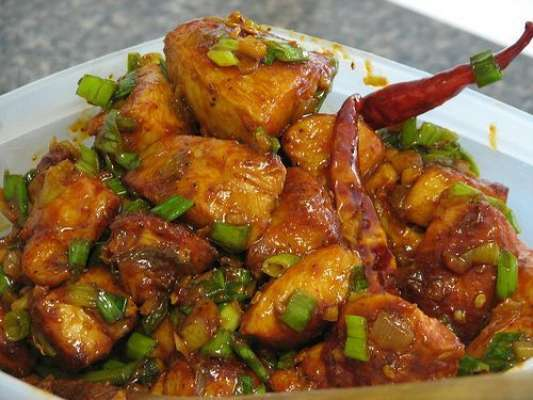 Khushk Chicken Chillies Recipe In Urdu