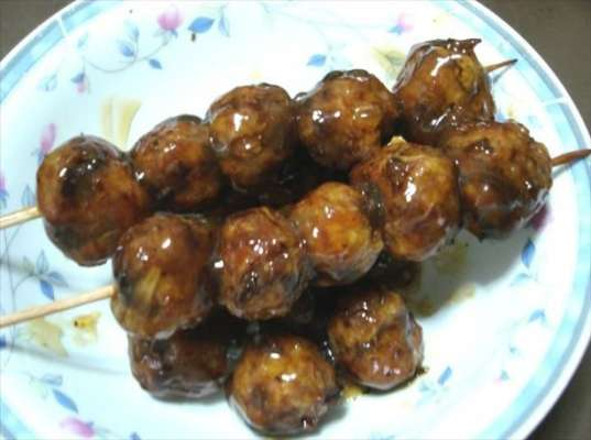 Meatball In Soy Sauce Recipe In Urdu