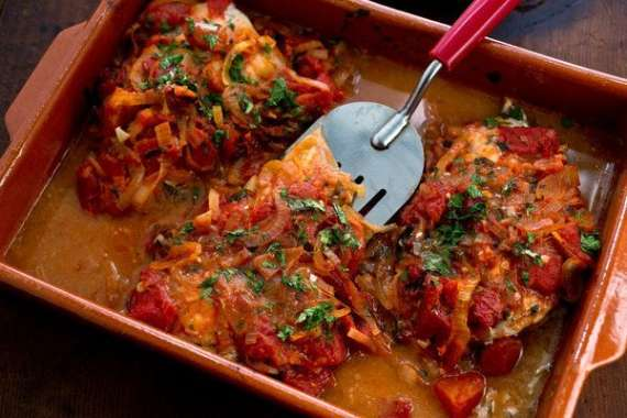 Fish With Tomato Sauce Recipe In Urdu