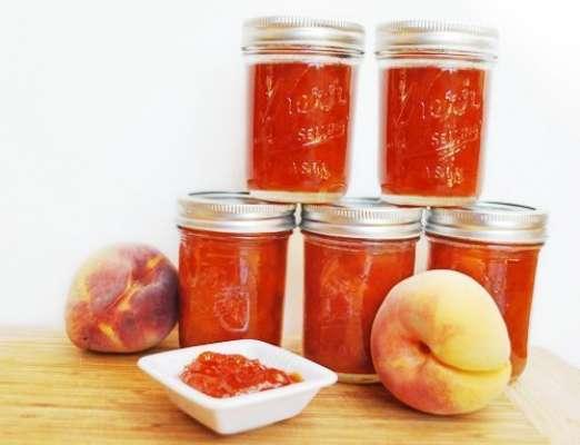 Peach And Pear Jam Recipe In Urdu