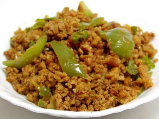 Keema Shimla Mirch Recipe In Urdu