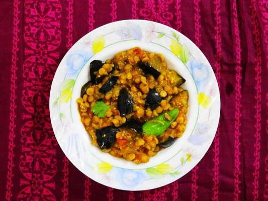 Baingan Daal Recipe In Urdu